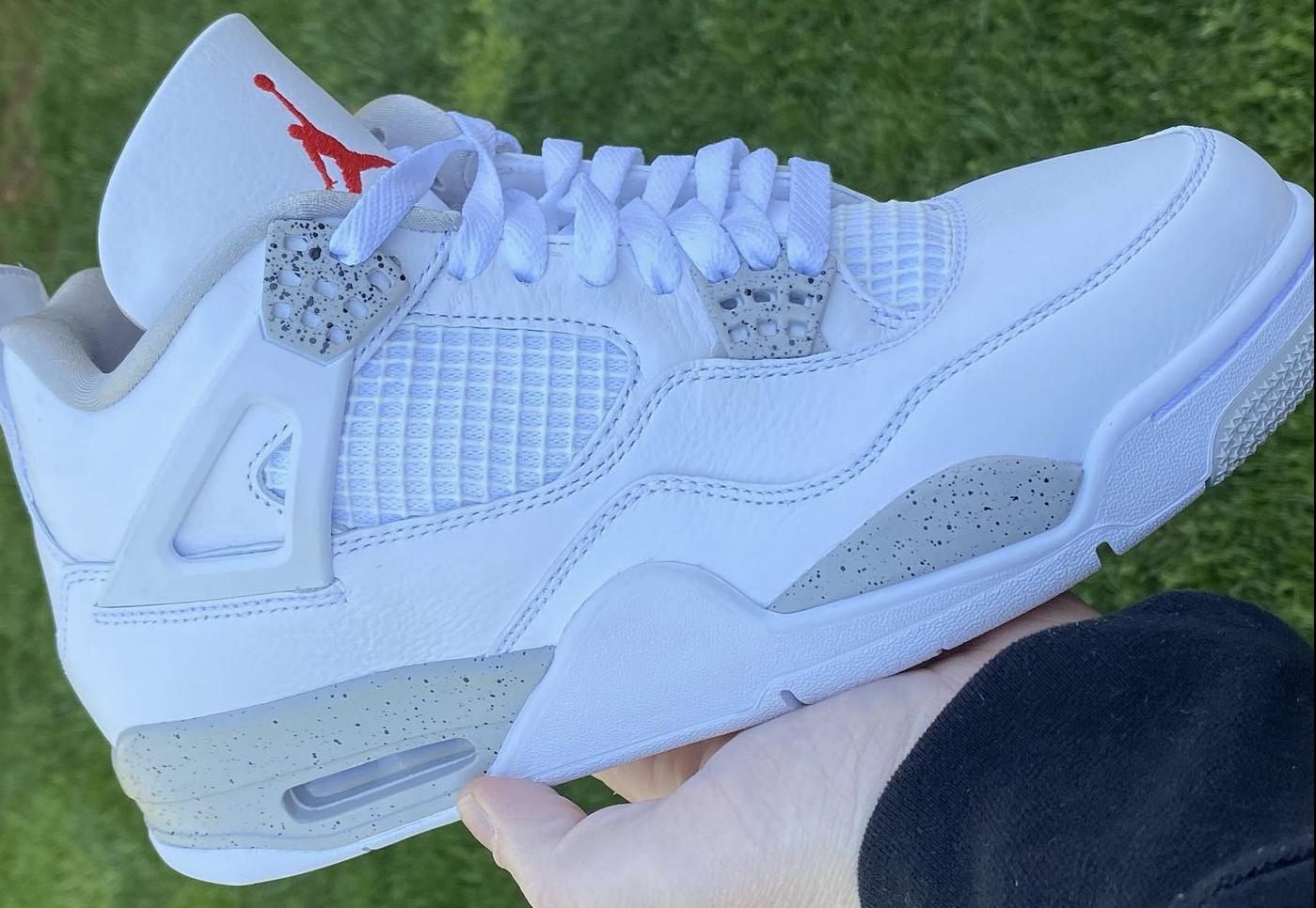 Air Jordan 4 White Oreo Dropping in June 1399x966