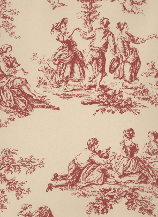 some classic examples of Toile de Jouy Wallpaper 611x840
