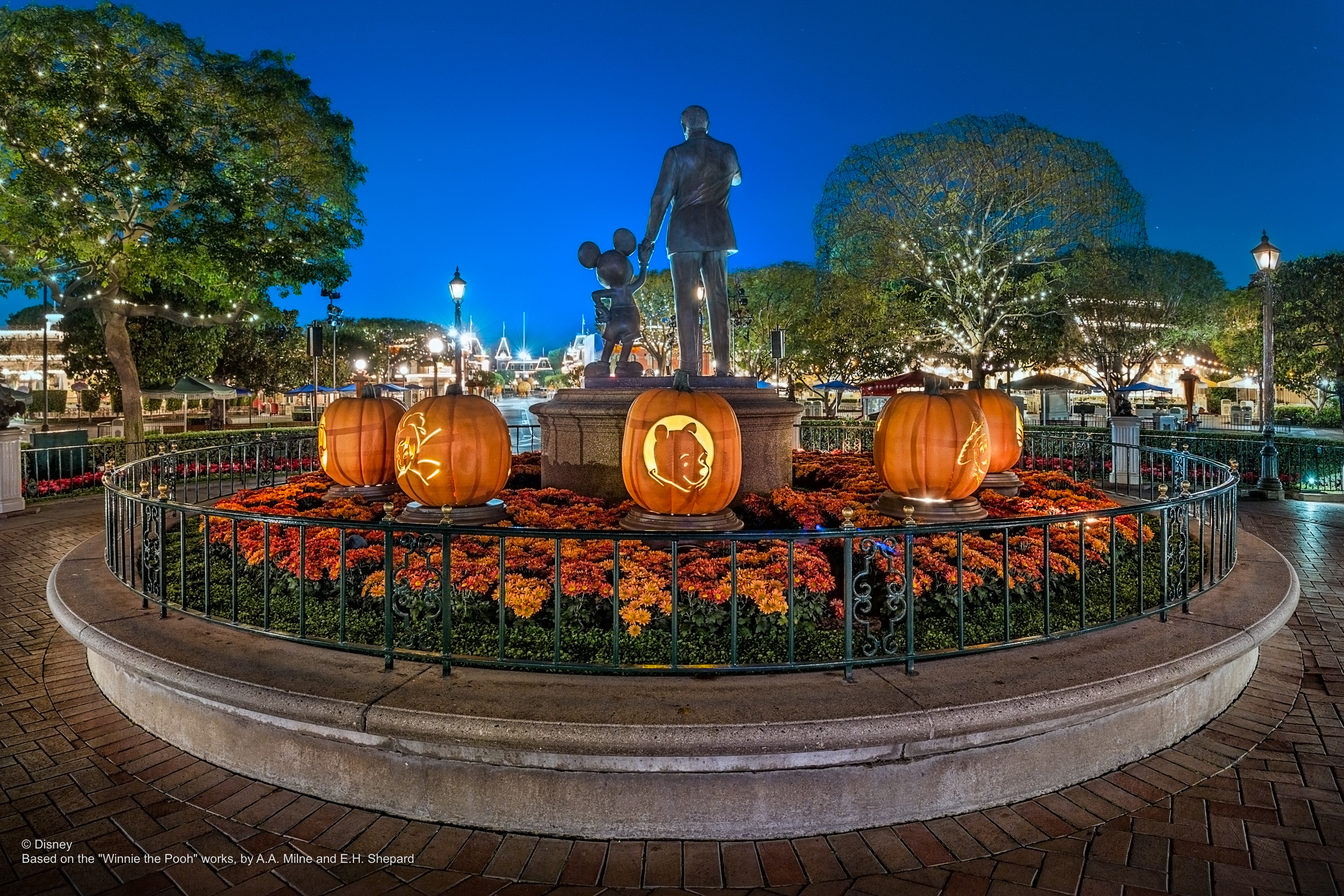 PHOTOS New Halloween PhotoPass Wallpapers Now Available from Walt 3000x2000