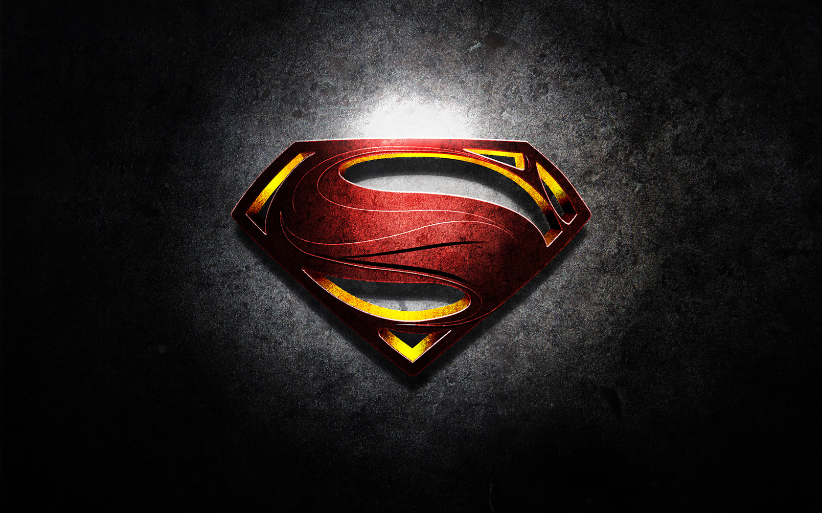 Wallpaper of the Week   Man of Steel Abduzeedo Design Inspiration 1680x1050