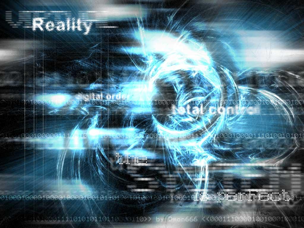 Download wallpaper Virtual Reality by dmon666 [1024x768