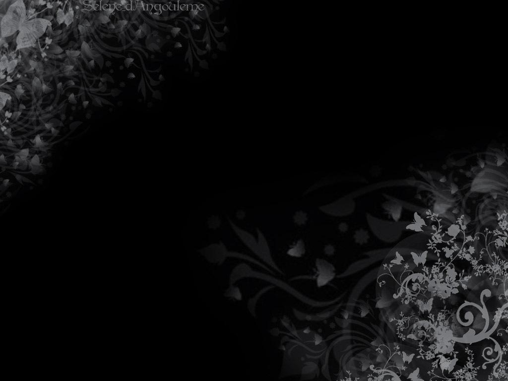 49 Black Background Floral Wallpaper On Wallpapersafari
