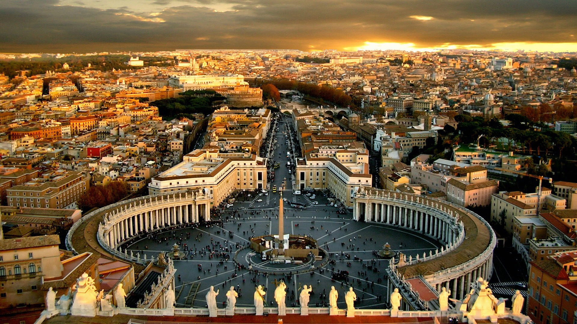 Vatican City desktop wallpaper 1920x1080