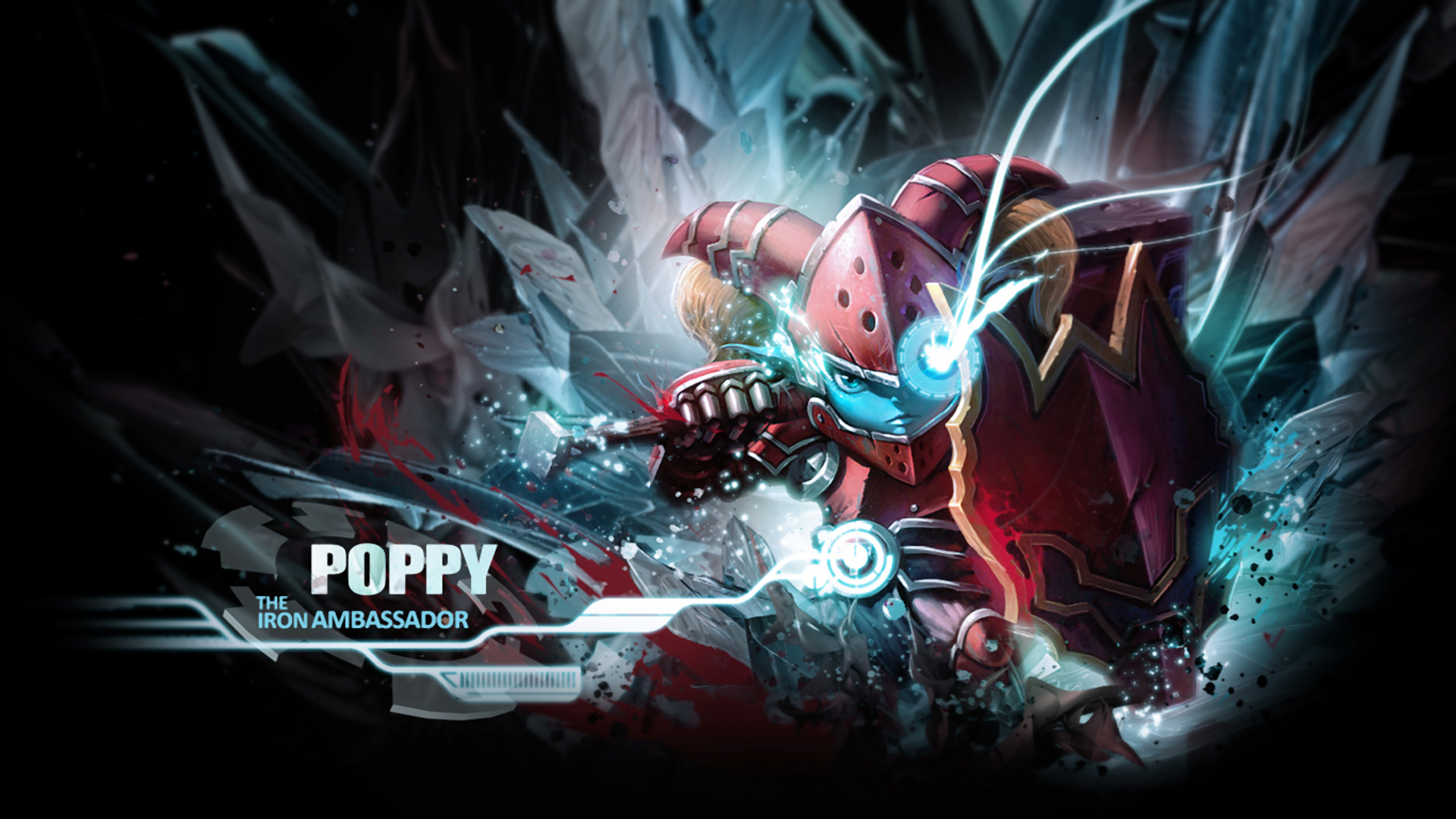 Poppy LoL 19201080 2k Wallpaper HD 1920x1080