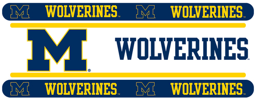 Michigan Wolverines Wallpaper Border Michigan Wolverines Wall Border 500x197