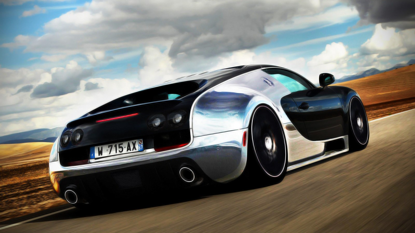 HD Bugatti Wallpapers For Download 1600x900