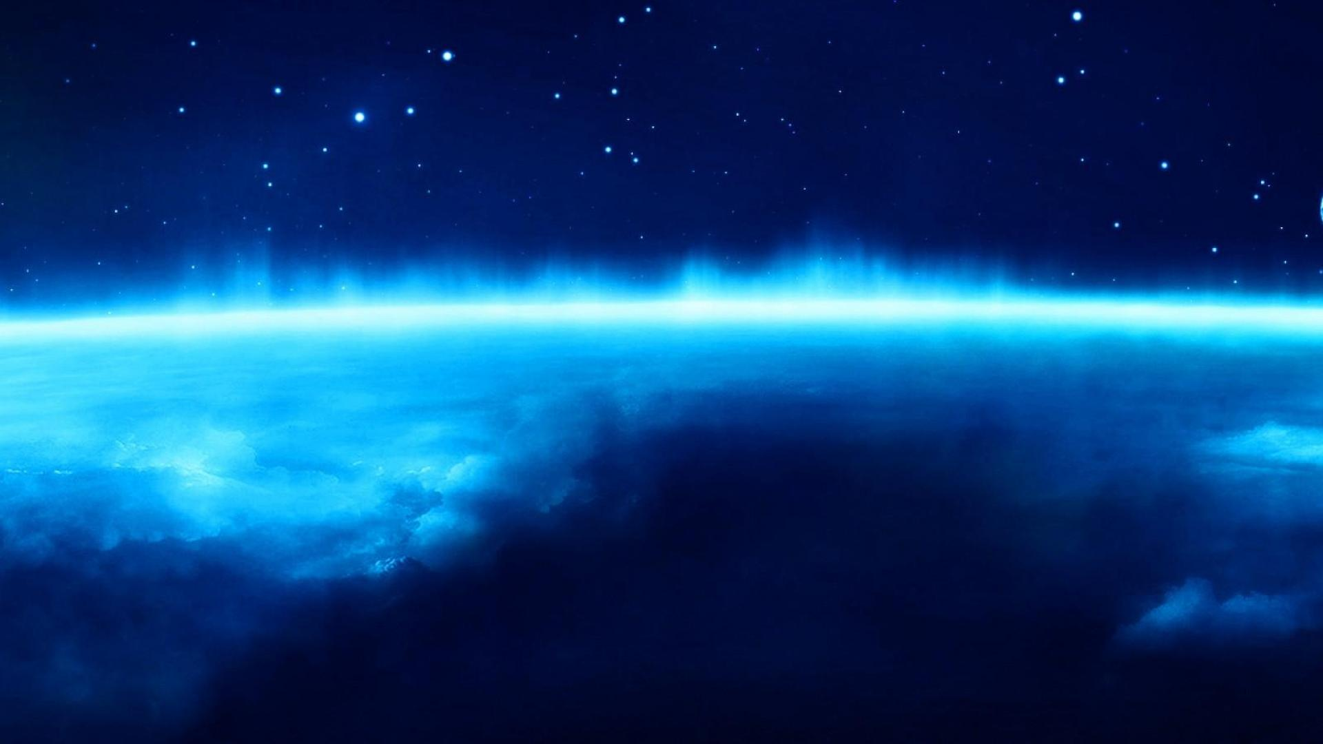 Deep Blue Space Wallpaper 1920x1080