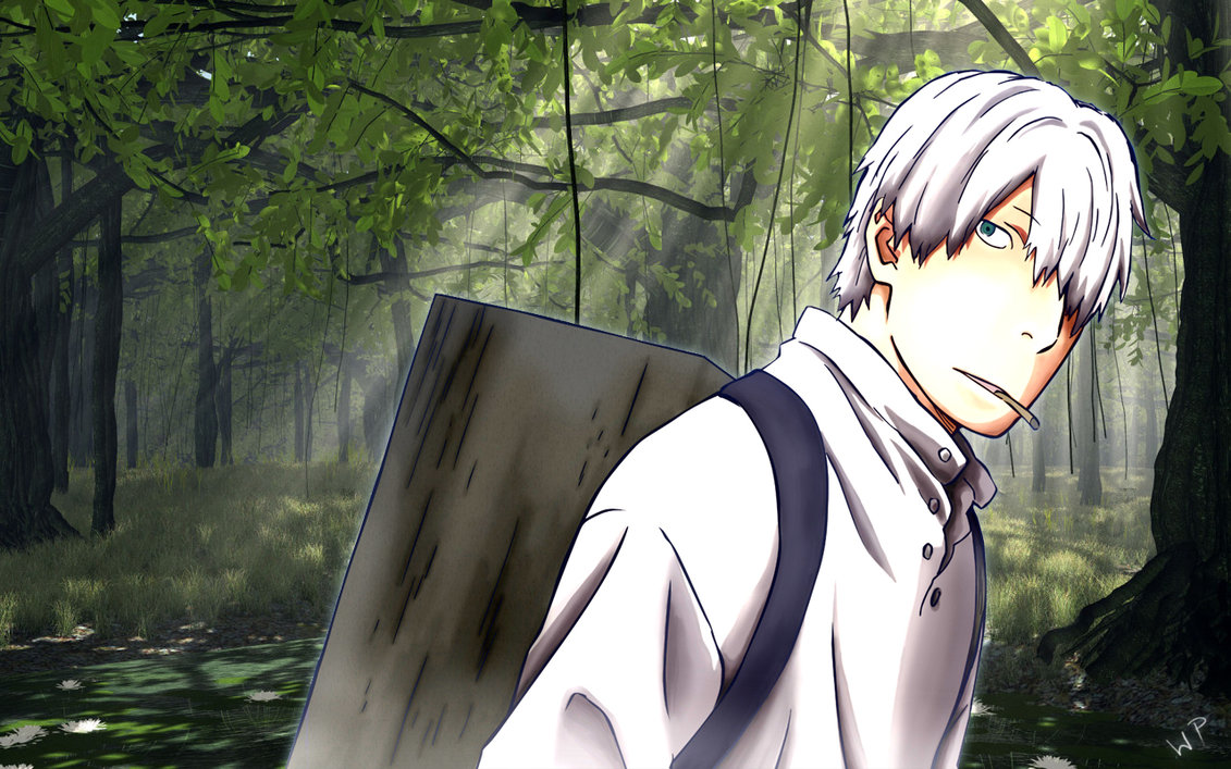Mushishi Ginko by WarppuWP 1131x707