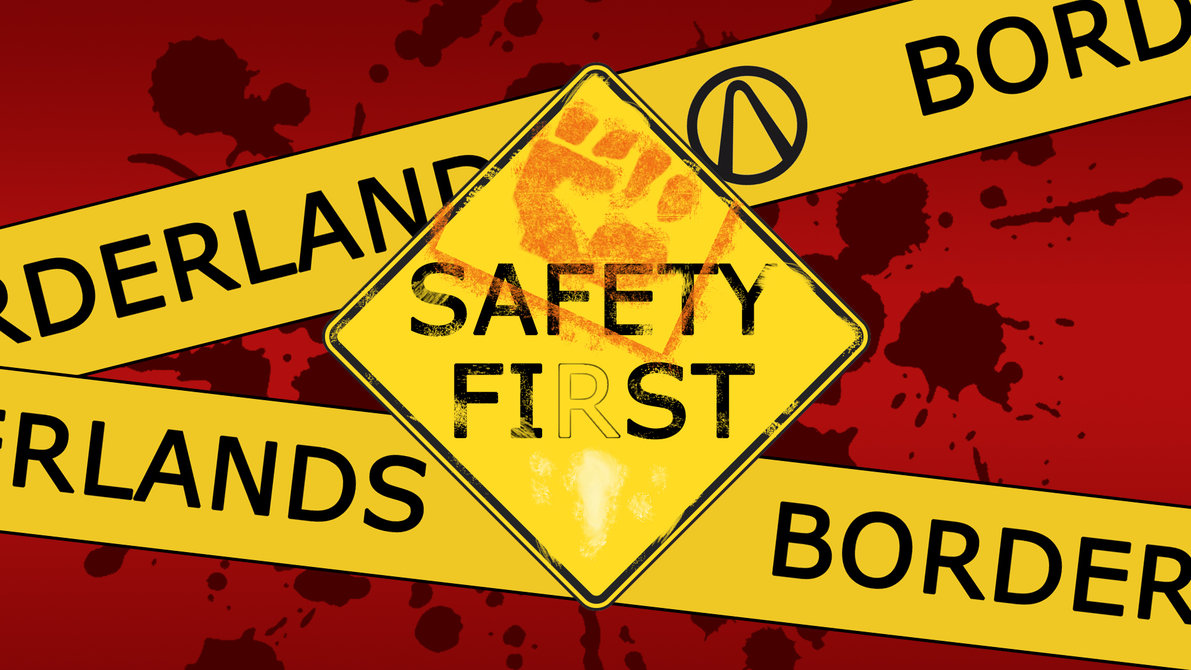 Safety Fist Wallpaper by SwedishCheese 1191x670