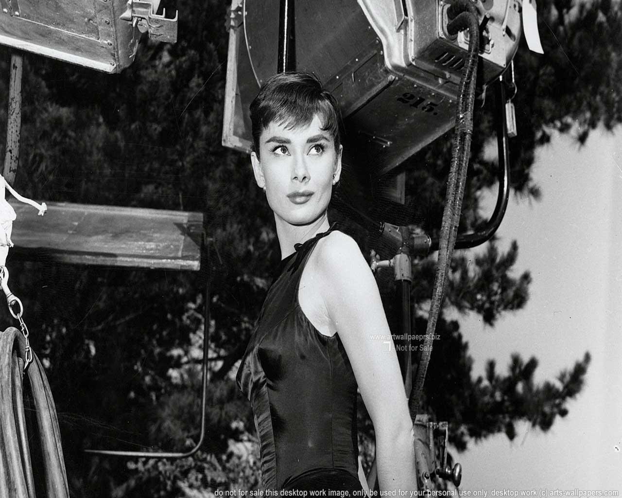 Audrey Hepburn Wallpapers Widescreen Full HD Desktop Art Wallpapers 1280x1024