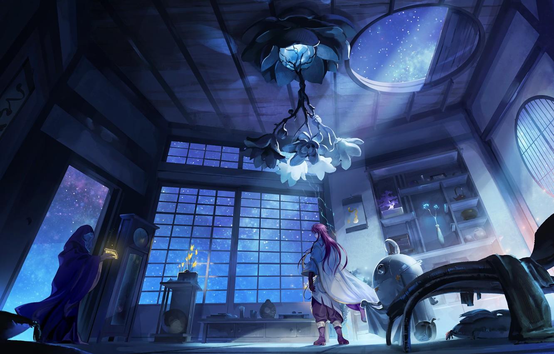 Wallpaper fantasy room anime images for desktop section 1332x850
