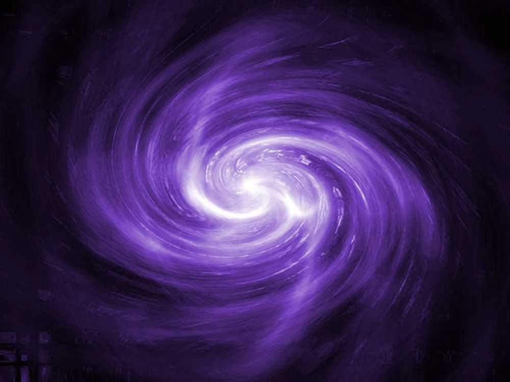 Purple Blue Galaxy Swirl