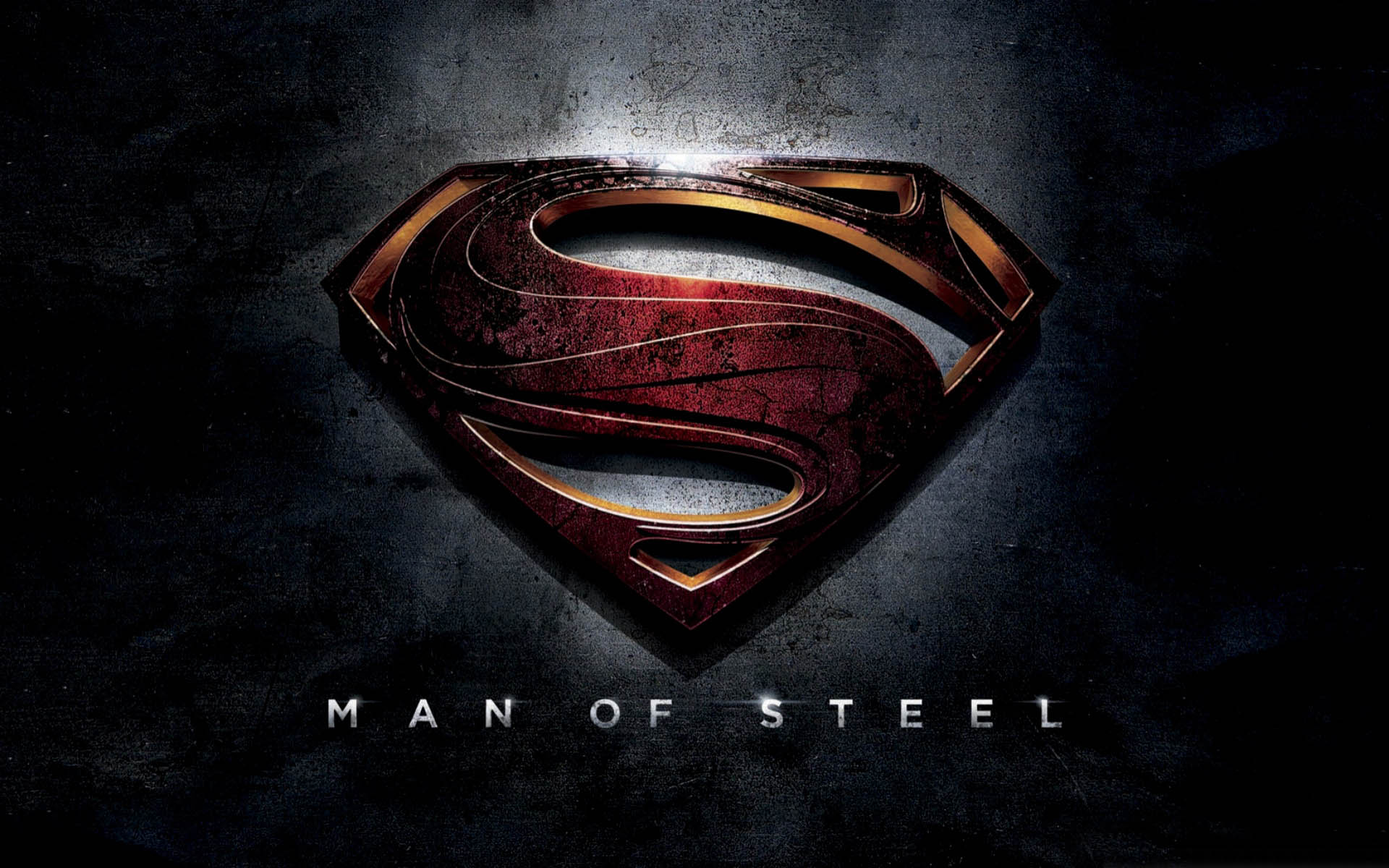 Superman Man of Steel Logo Exclusive HD Wallpapers 1898 1920x1200