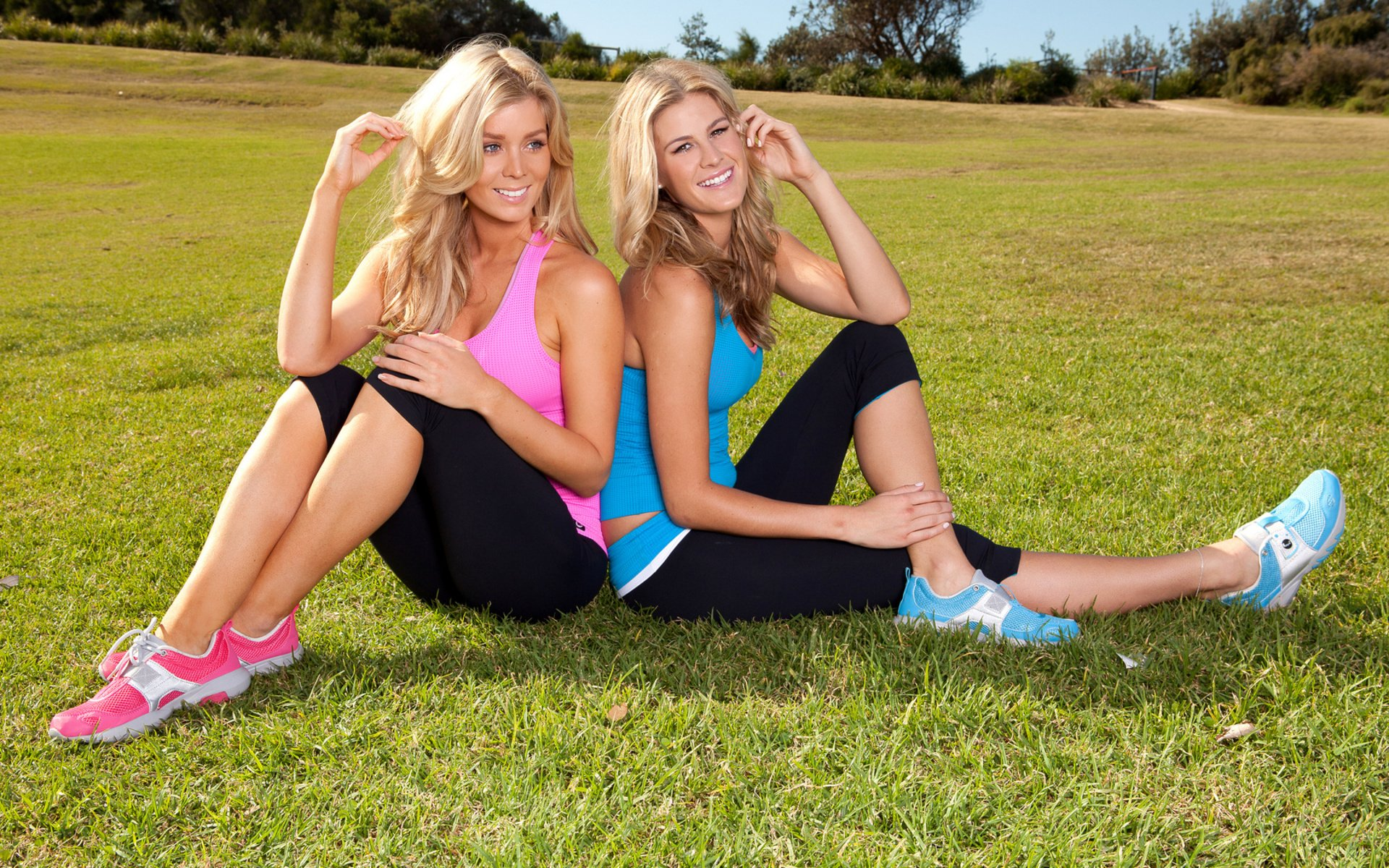 Sheridyn Fisher and Kristie Mckeon HD Wallpaper Background Image 1920x1200