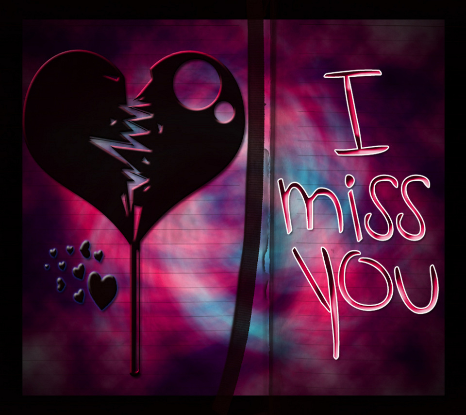 New I Miss You Wallpapers Photos And Pictures In HD 2jpg 960x854