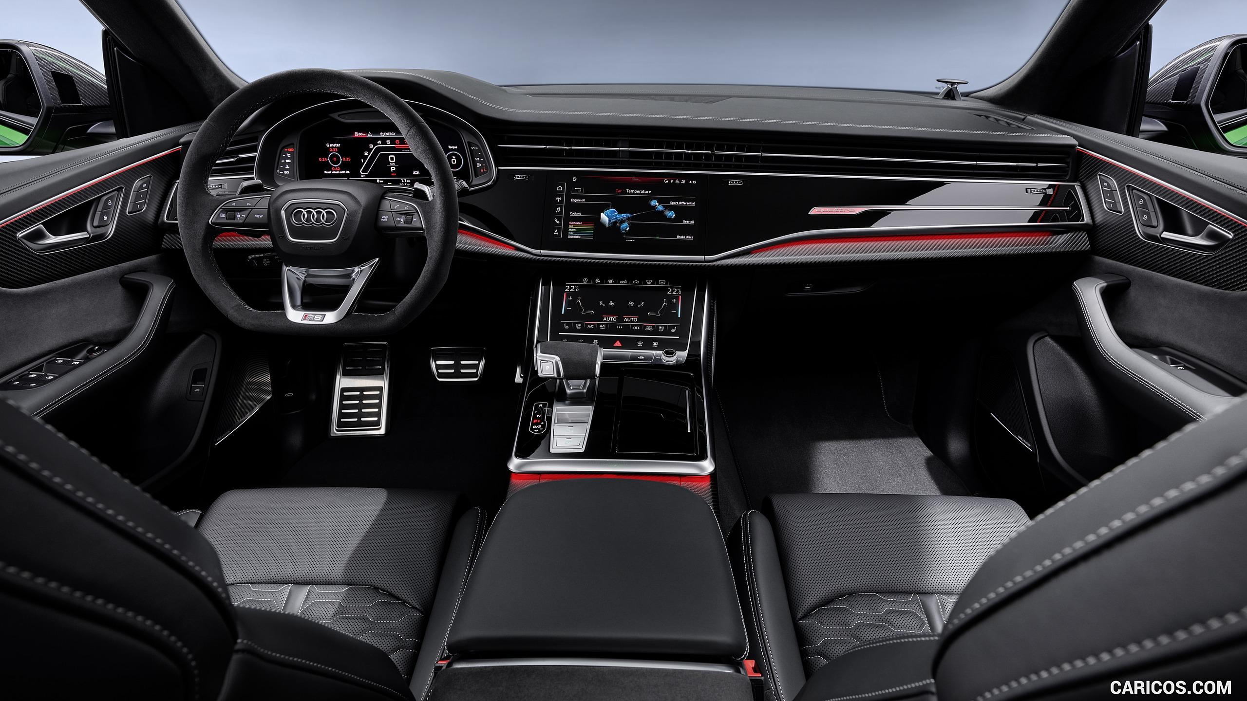 2020 Audi RS Q8   Interior Cockpit HD Wallpaper 13 2560x1440