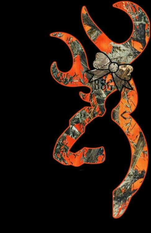 Browning Orange Camo Browning Camo Wallpaper Pinterest 486x750