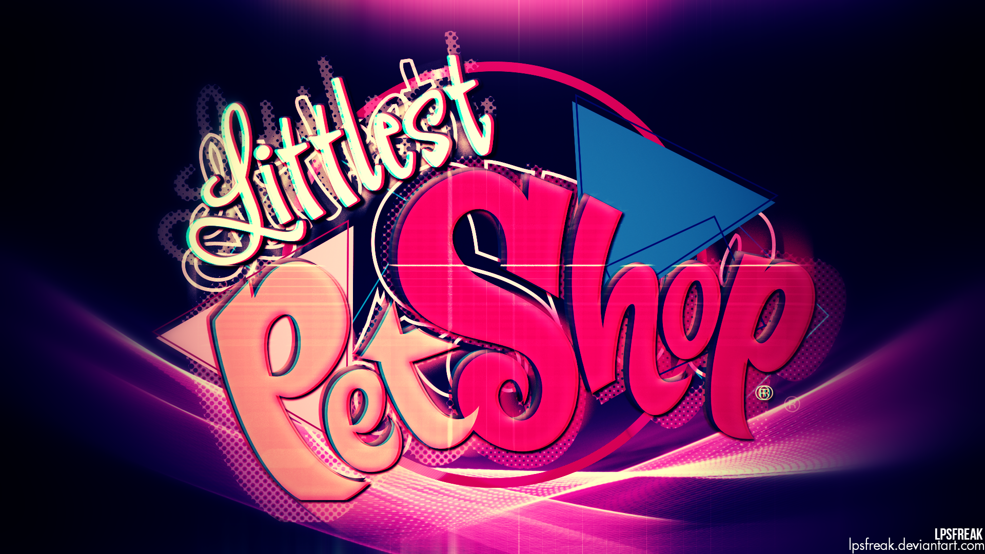 littlest pet shop graphic out by shaynellelps customization wallpaper 1920x1080