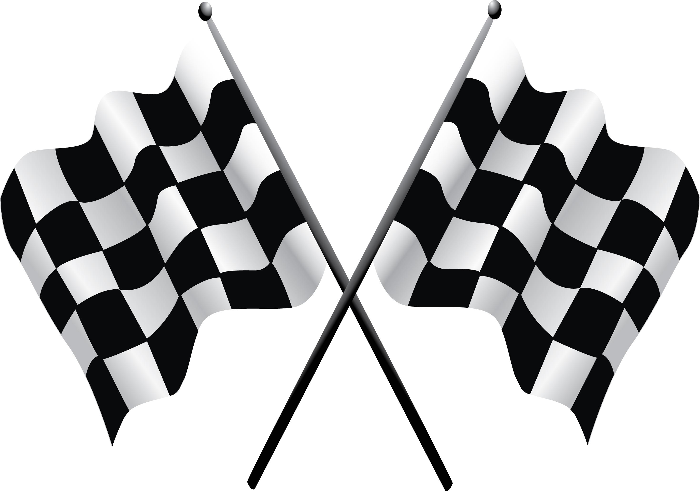 Checkered Flag Clip Art 2939x2060