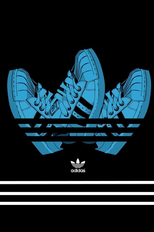 adidas logo 2012 Desktop wallpapers 640x960 640x960