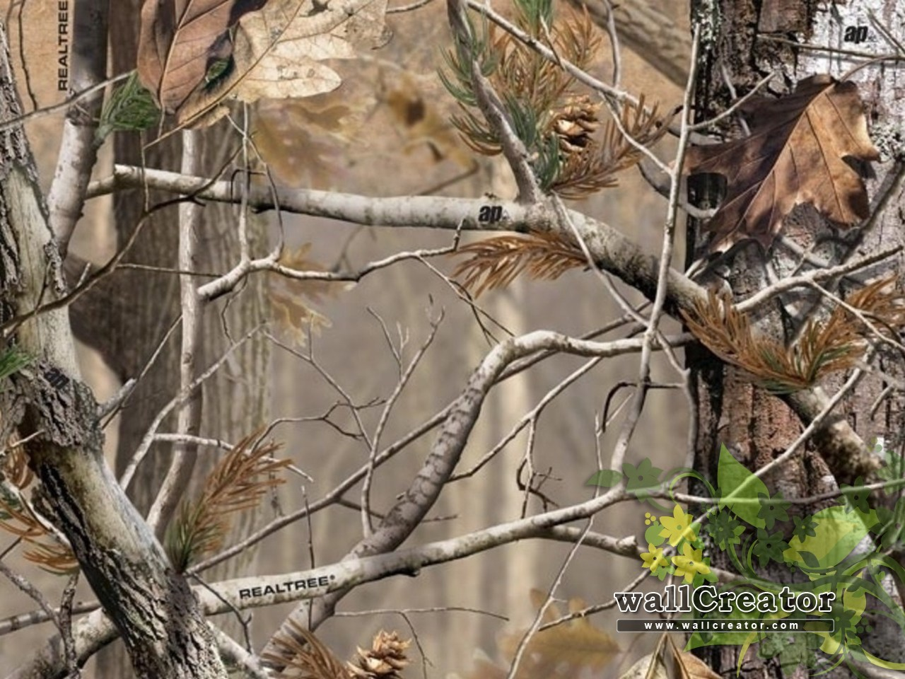 comrealtreerealtree camo wallpaper border realtreecomhtm 1280x960