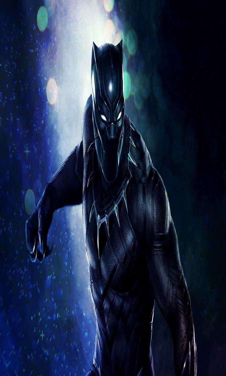 The Black Panther Wallpapers 768x1280