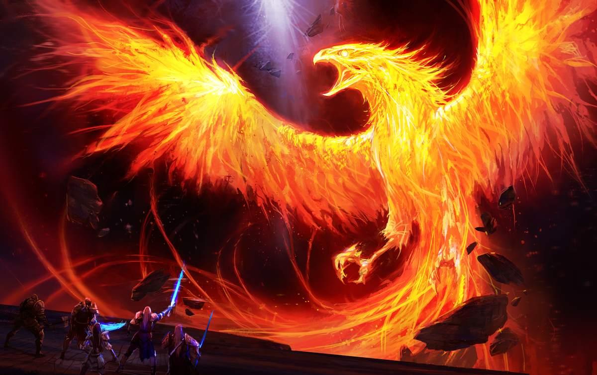 Fantasy Phoenix Wallpaper 16 Background Wallpaper Wallpaper 1200x755