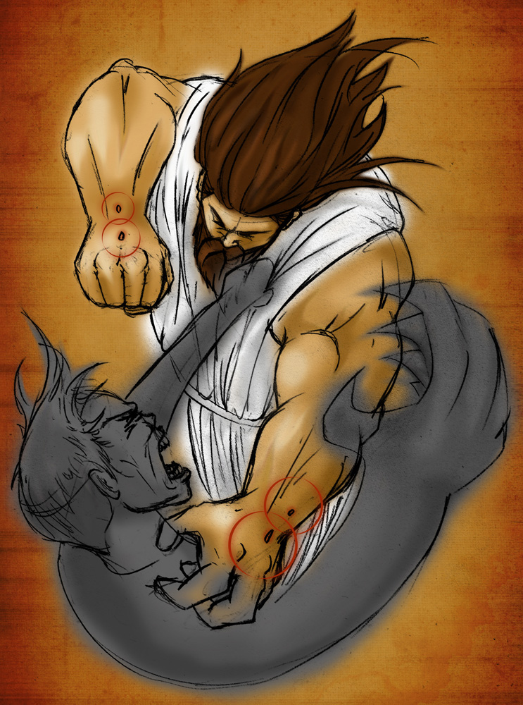 Jesus Vs Devil Wallpaper Christ vs satan by gavacho13 743x1000