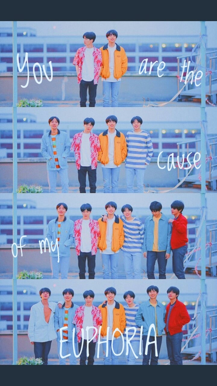 BTS Euphoria Wallpaper shared by Eliza on We Heart It 720x1280