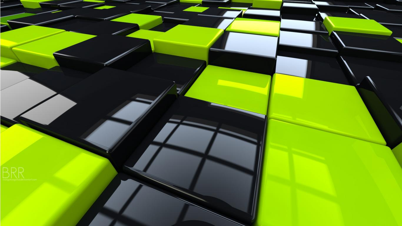 And Black Cubes HD Wallpaper HD Wallpapers High Quality Wallpapers 1366x768