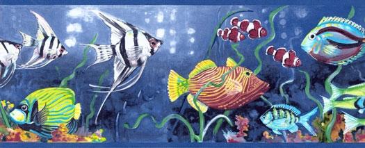 Wallpaper By Topics Nautical Tropical   Wallpaper Border 525x213