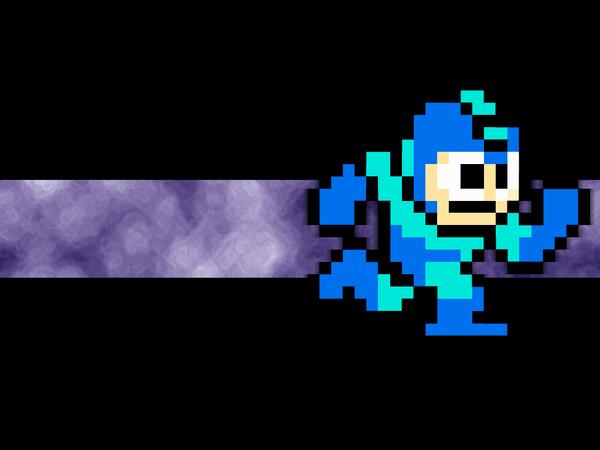 Megaman 8 bit Wallpaper by Icyfrodo 600x450
