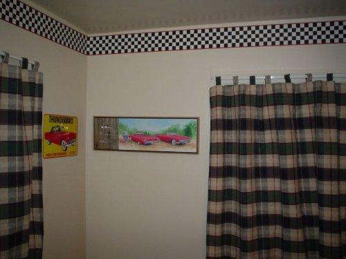 Checkered Flag Cars Nascar Wallpaper Border 6 Inch Red Edge   HOME 500x375