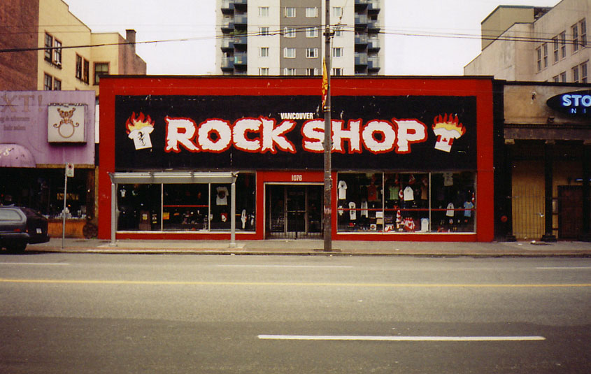 Vancouver   Rock Shop by nite walker 845x535