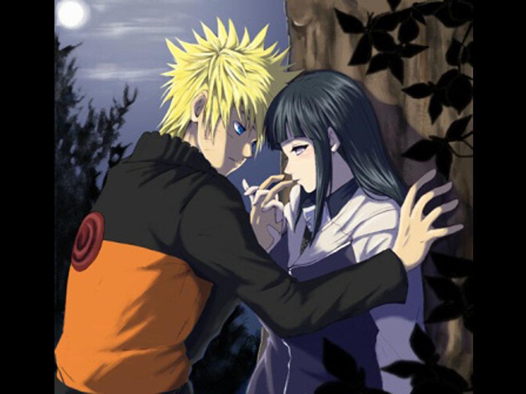 Naruto And Hinata Kiss Wallpaper HD4Wallpapernet 1024x768