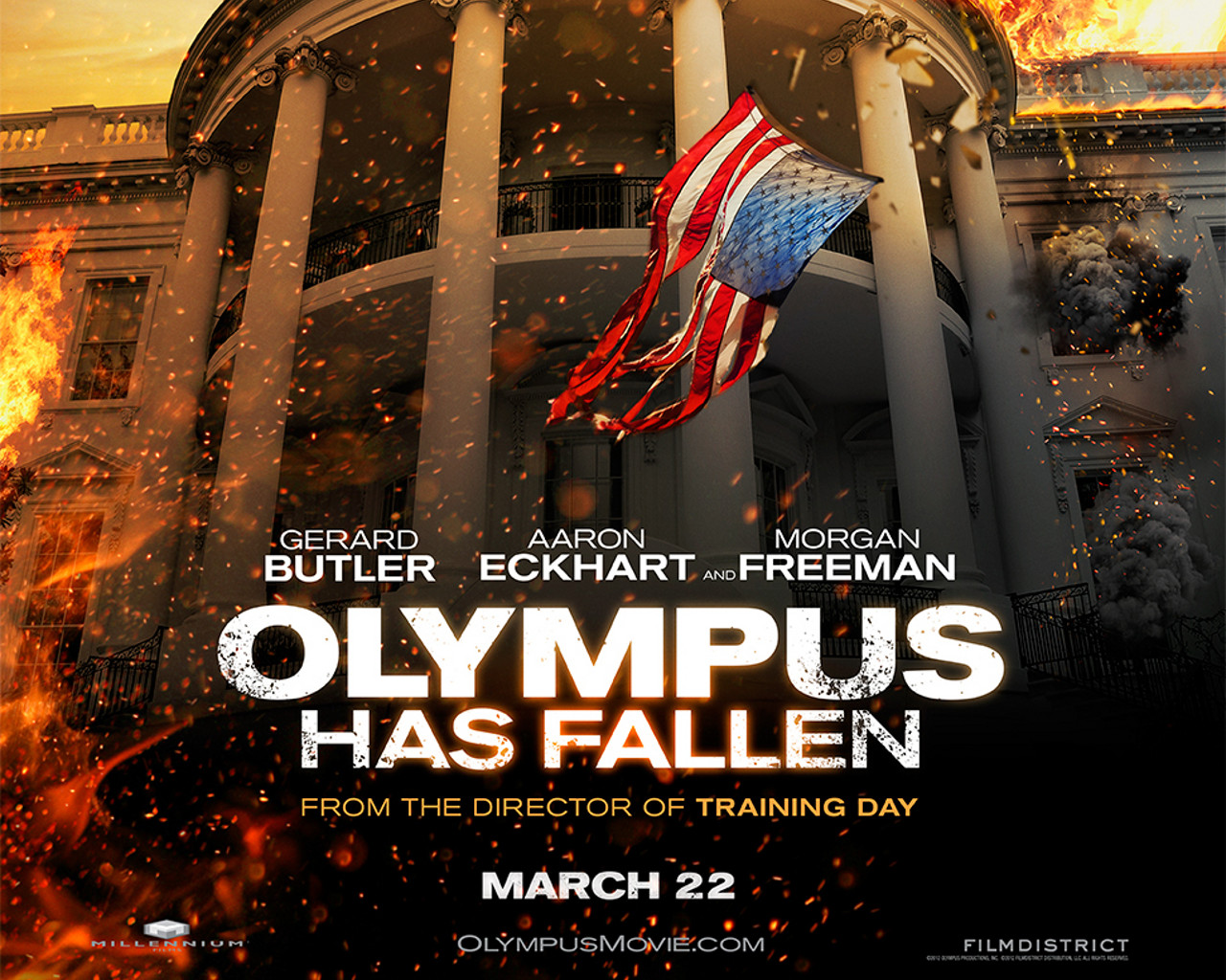 Olympus Has Fallen Wallpaper 01 1280x1024
