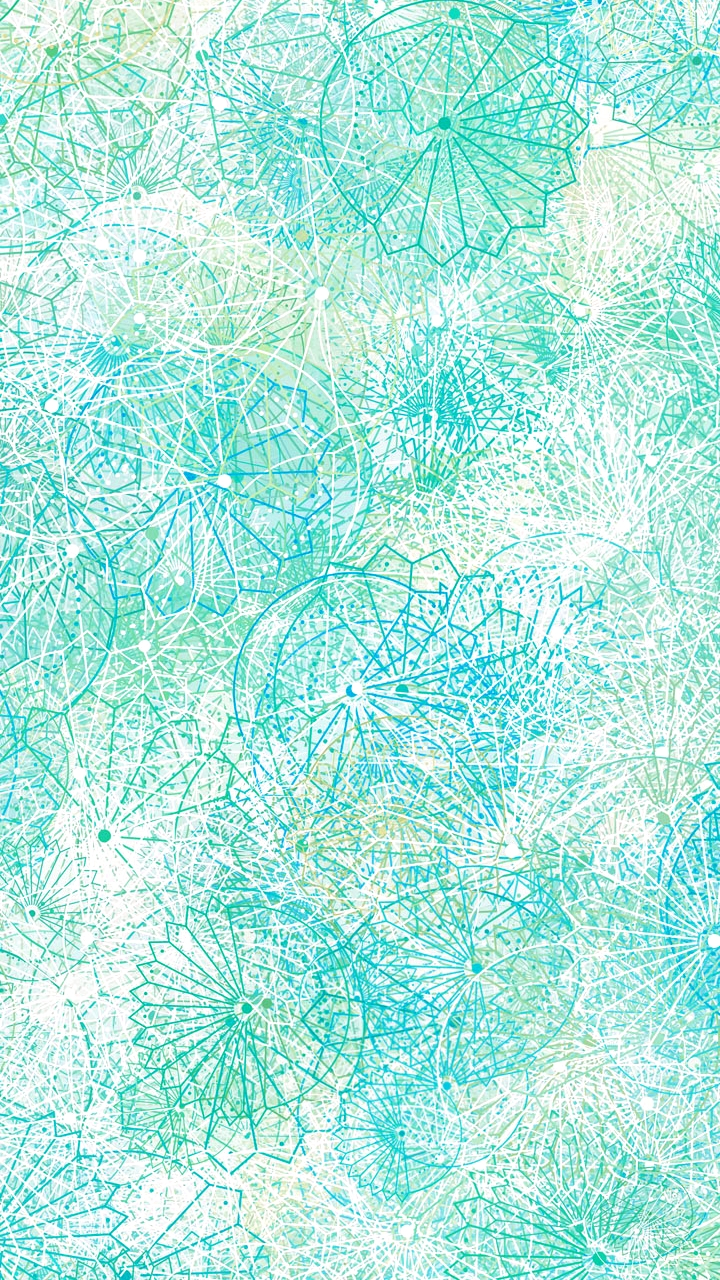 Blue and green pattern wallpaper - photo#47