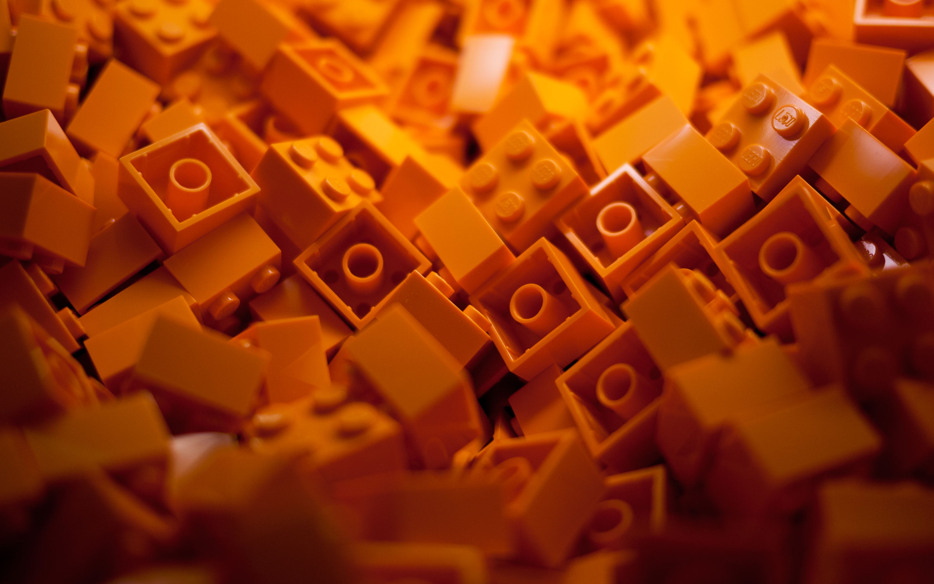 Orange Lego Bricks Orange bricks   desktopjpg 3200x2000