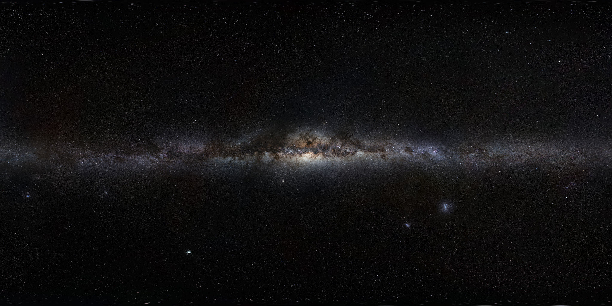 Milky Way Galaxy 19201080 HD Space Astronomy Wallpaper 2048x1024