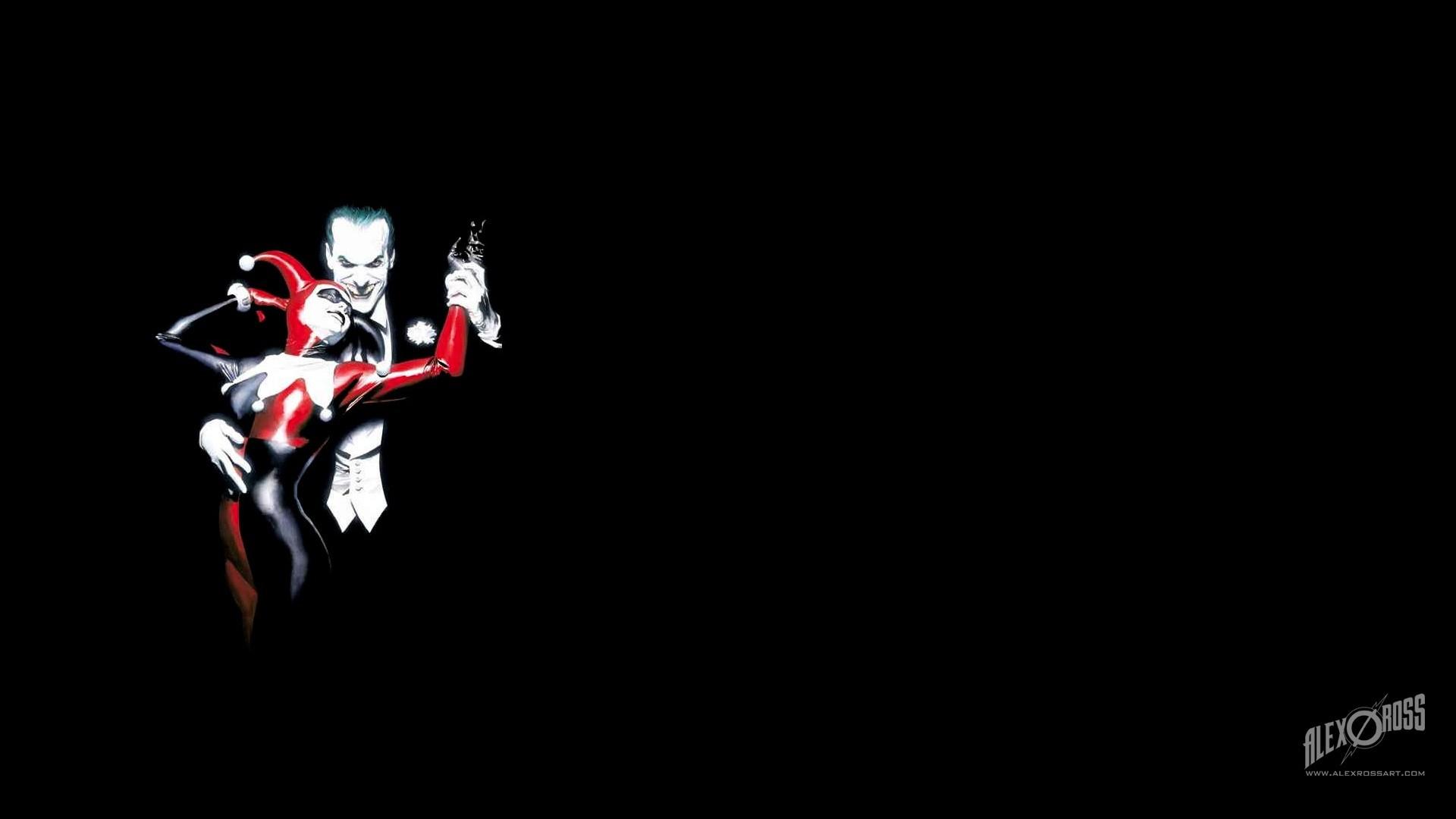 Joker and Harley Quinn Wallpaper 1920x1080