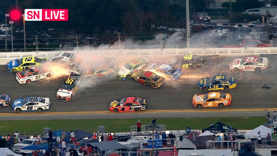Daytona 500 results Highlights from Denny Hamlins chaotic crash 960x540