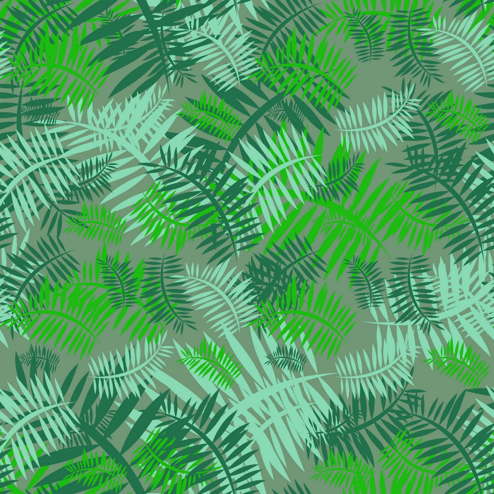 Green Desktop Wallpaper: Green Fern Wallpaper