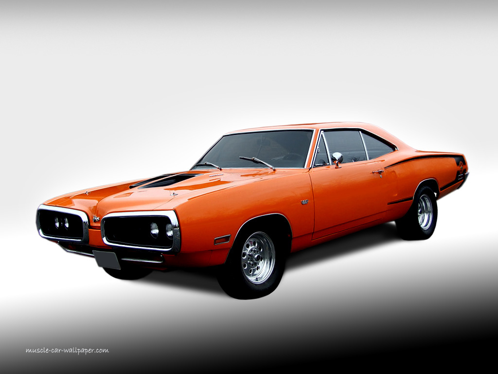 Dodge Super Bee Orange Hardtop Wallpaper 1024 01 Mopar Muscle Cars 1024x768