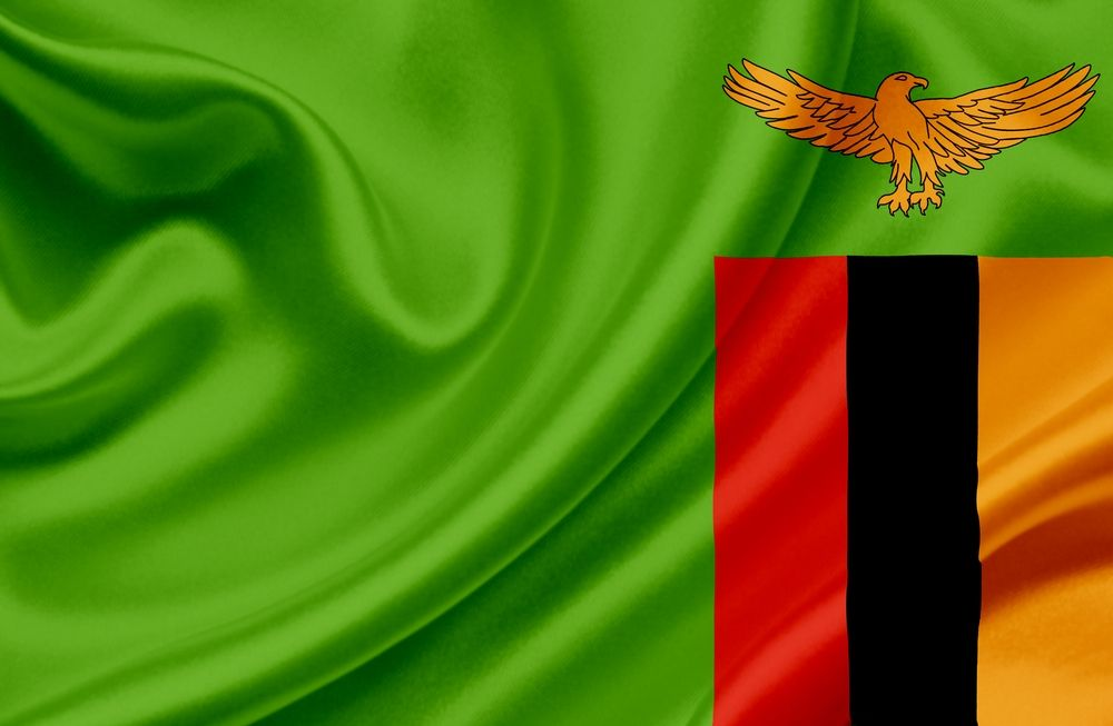 Waiving Zambia Flag Countries weve visited 1000x653