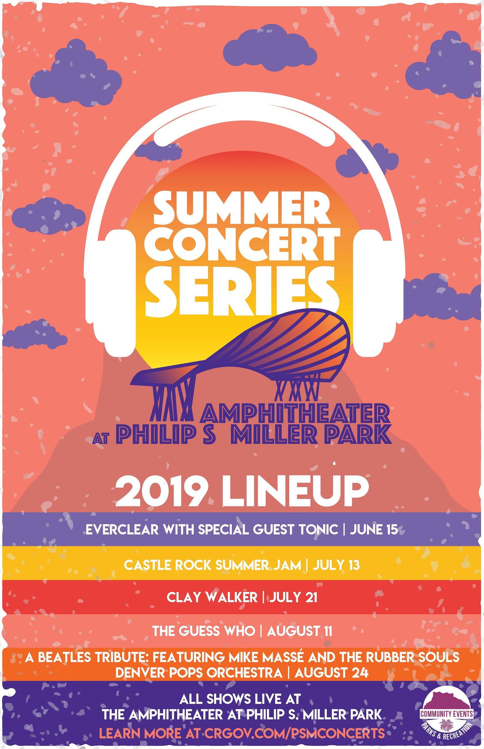 Summer Concert Series Castle Rock CO   Official Website 1682x2600