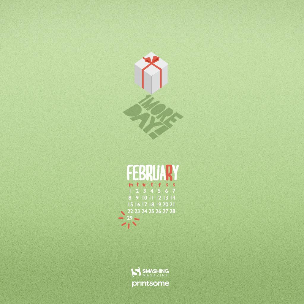 Desktop Wallpaper Calendars February 2016 Smashing Magazine 1024x1024