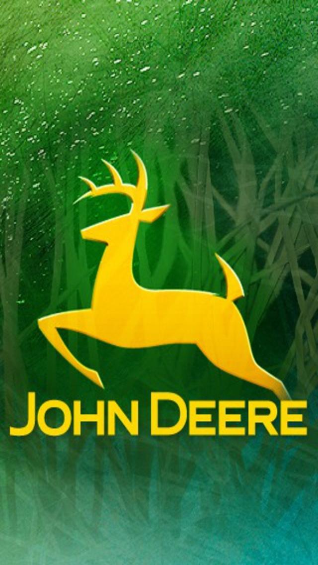 Go Back Pix For John Deere Logo Wallpaper 640x1136