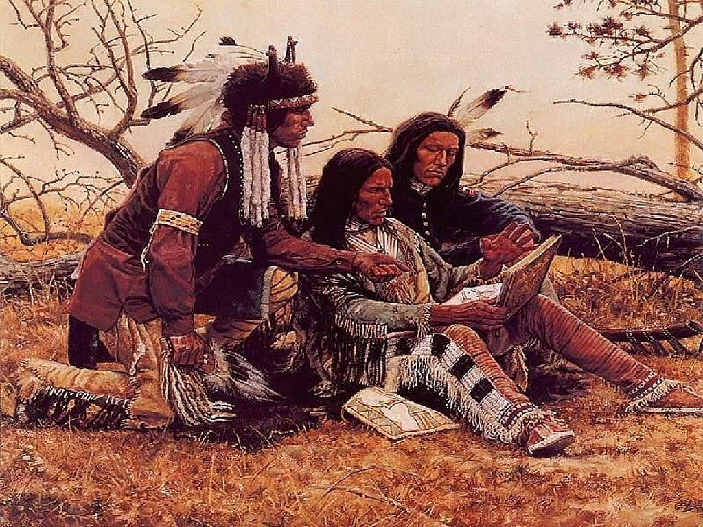 Native American Indian Screensavers 1024x768