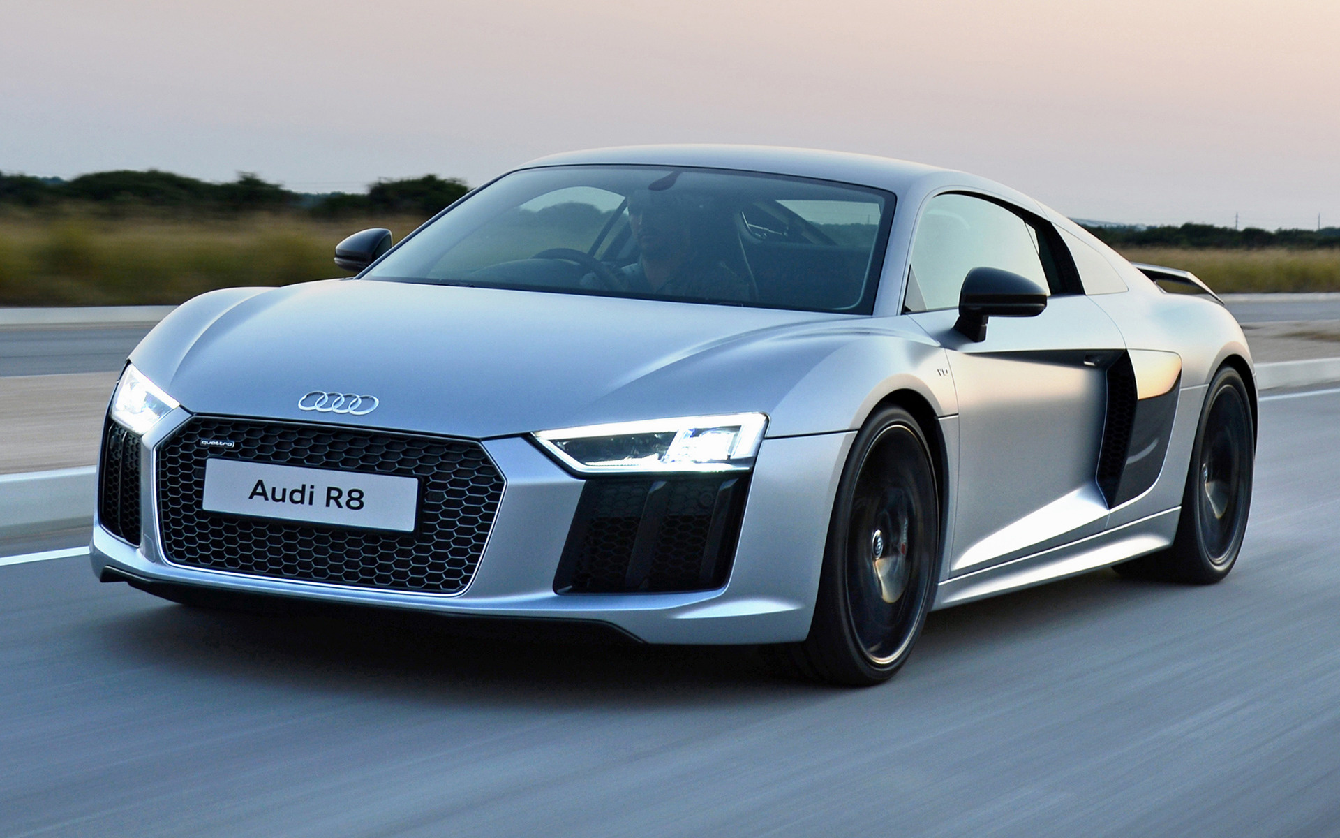Audi R8 V10 plus 2016 ZA Wallpapers and HD Images   Car 1920x1200