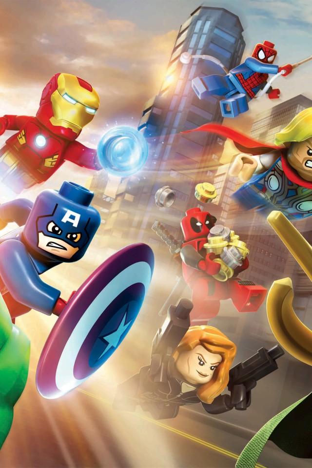 Download Marvel iPhone Wallpaper 640x960